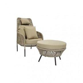 Set Armchair + matching...