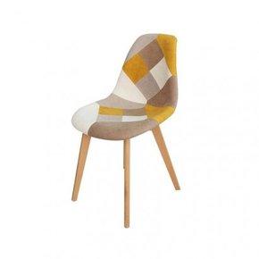 ORAZ patchwork chair - Yellow