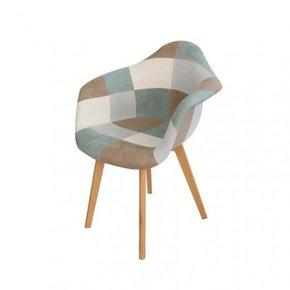 Patchwork arm chair - ORAZ...