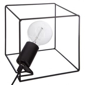 RUSH Metalen Lamp Zwart...