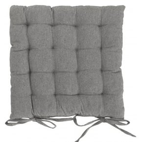 Quilted square chair cover...