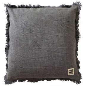 Square cushion in mottled...