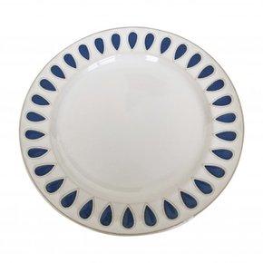 Blue printed ceramic dinner...