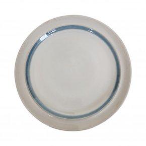 Ceramic dinner plate with...