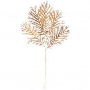 Gold peacock feather stem,...