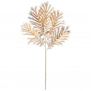 Tige plumes de paon dorées,...