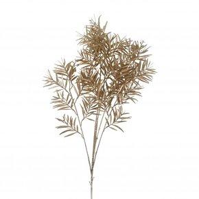 Stem golden bamboo leaves,...