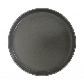 Grey ceramic dinner plate,...