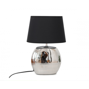 Table lamp with black...