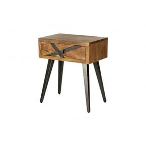 Table de chevet en bois...
