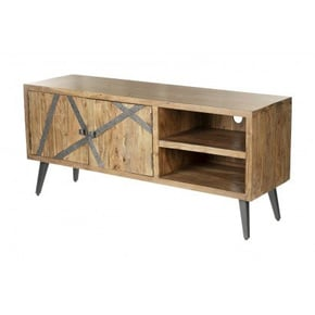 Wooden TV stand with...