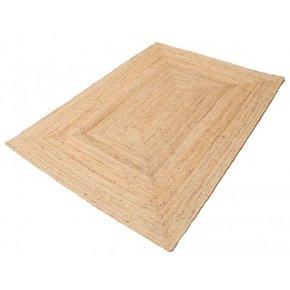 Rechthoekig jute tapijt in...