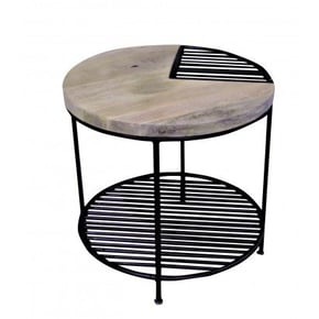 Side table in wood and...