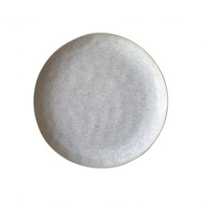White ceramic dinner plate,...