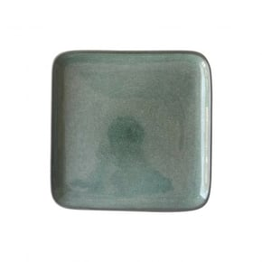 Water green ceramic dessert...