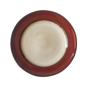 Ceramic plate, D25 cm - DAVIS