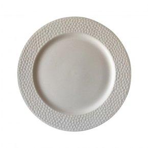 Ceramic plate, D28 cm - FLORE