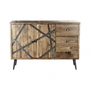 Wooden sideboard with...