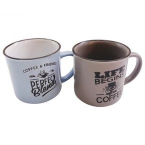 Pack 2 Mugs en céramique,...