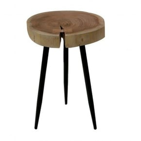 Wooden side table, 34x34xH51CM