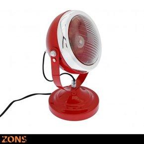 DEUCHE lamp 3 kleuren rood